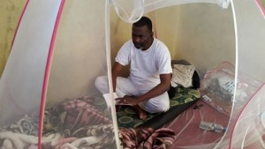 Biram Dah Abeid depuis sa prison en 2015