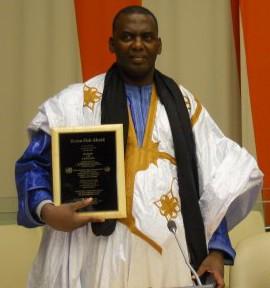 Biram Dah Abeid   –   prix des Droits Humains de l'ONU