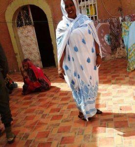 Marieme Cheikh à l'intérieur de la prison des femmes