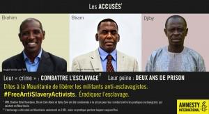 Mauritania #FreeAntiSlaveryActivist_FRE