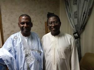 Rencontre avec le President de l'URD et chef de file de l'opposition Malienne et deputé à l'Assemblée  l'Honorable SOUMAILA CISSE